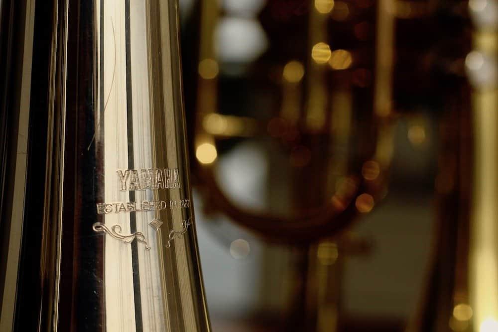 Yamaha trumpet engraving