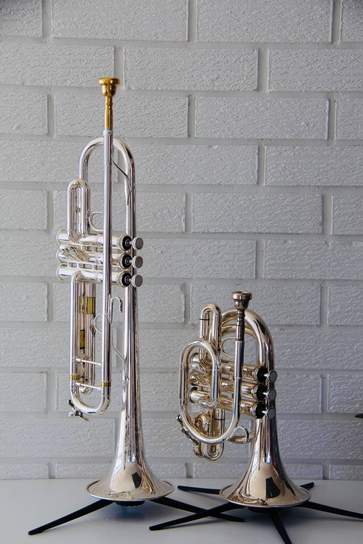 Bb Trumpet with Pocket Trumpet