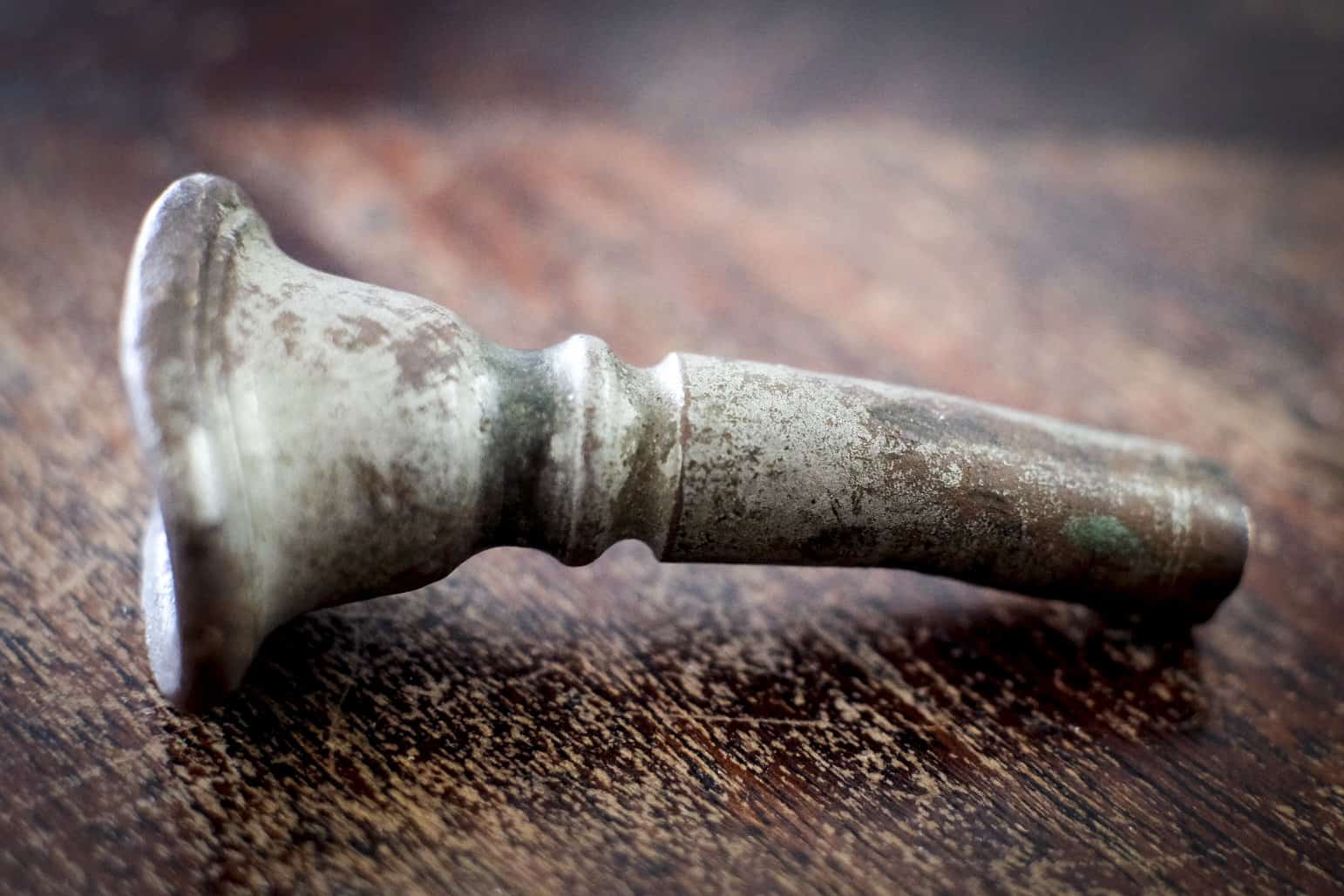 Old Bent Trumpet Mouthpiece